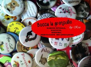 Le blog de Bocca la grenouille dans Création de badges fond3-300x223