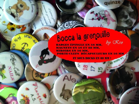 BOCCA LA GRENOUILLE